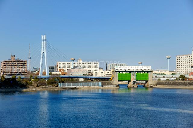 辰巳水門の写真素材 [FYI03293813]