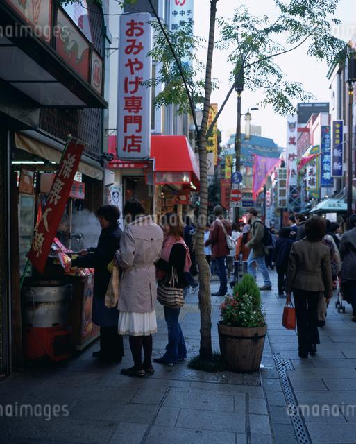 中華街の写真素材 [FYI03297684]