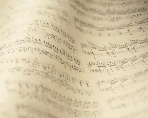 楽譜の写真素材 [FYI03297857]