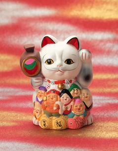 七福神招き猫の写真素材 [FYI03298085]