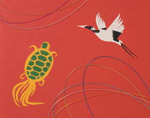 鶴と亀の写真素材 [FYI03298112]