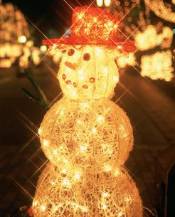 雪だるま クリスマスイルミネーション 多摩センターの写真素材 [FYI03298355]