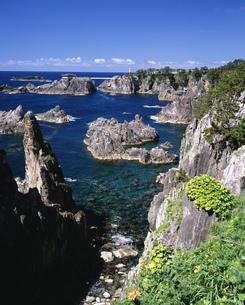 外海府海岸 尖閣湾の写真素材 [FYI03298793]