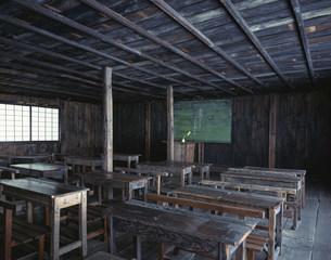 渋民尋常小学校旧校舎教室玉山村の写真素材 [FYI03299045]