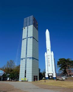 台山公園のH-Ⅱロケット実物大模型の写真素材 [FYI03299306]