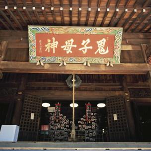 雑司谷鬼子母神堂の写真素材 [FYI03300399]