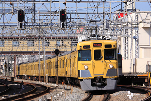 西武新宿線 急行の写真素材 [FYI03300503]