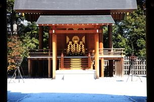 阿佐ヶ谷神明宮神殿の写真素材 [FYI03300926]