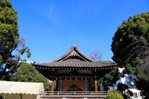品川神社神楽殿の写真素材 [FYI03301030]