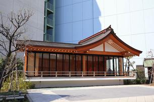 成子天神社神楽殿の写真素材 [FYI03301178]