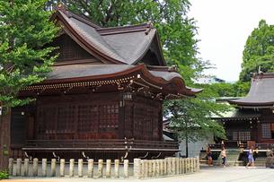 新宿十二社熊野神社神楽殿の写真素材 [FYI03301389]