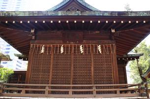 鉄砲洲稲荷神社神楽殿の写真素材 [FYI03301559]