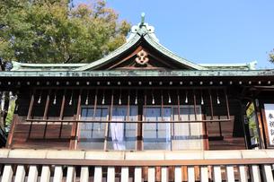 鉄砲洲稲荷神社神楽殿の写真素材 [FYI03301574]