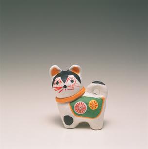 こま犬 和紙民芸の写真素材 [FYI03302799]