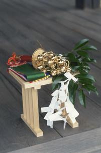 祭りの神事道具スズ 城南宮の写真素材 [FYI03302927]