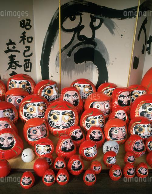 だるま寺の節分の写真素材 [FYI03302985]
