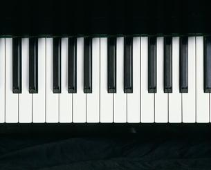 ピアノの鍵盤の写真素材 [FYI03303081]