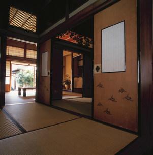 和紙の商家 土居邸の内部の写真素材 [FYI03303386]