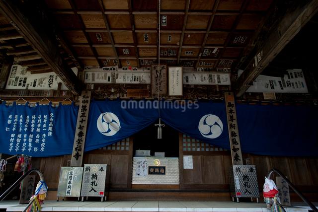 本堂、四国八十八ヶ所、第57番栄福寺の写真素材 [FYI03303581]