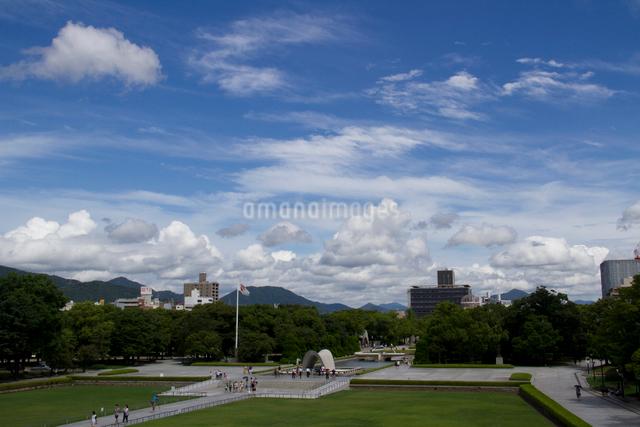 広島県の平和記念公園の写真素材 [FYI03303601]