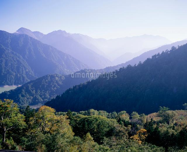 黒部平より望む黒部川源流の山々の写真素材 [FYI03303772]