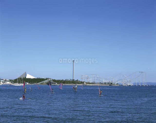 八景島の写真素材 [FYI03303788]