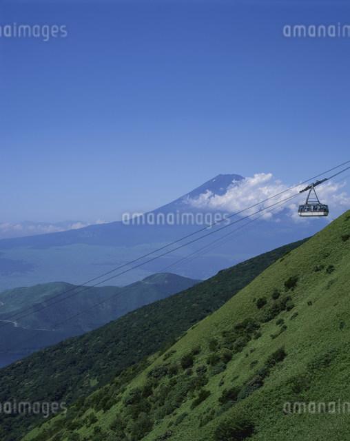駒ヶ岳ロープウェーの写真素材 [FYI03303789]