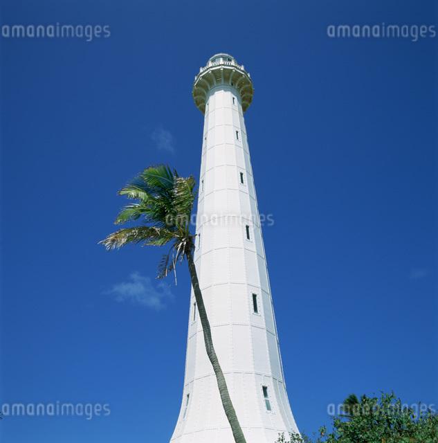 アメデ灯台の写真素材 [FYI03303790]