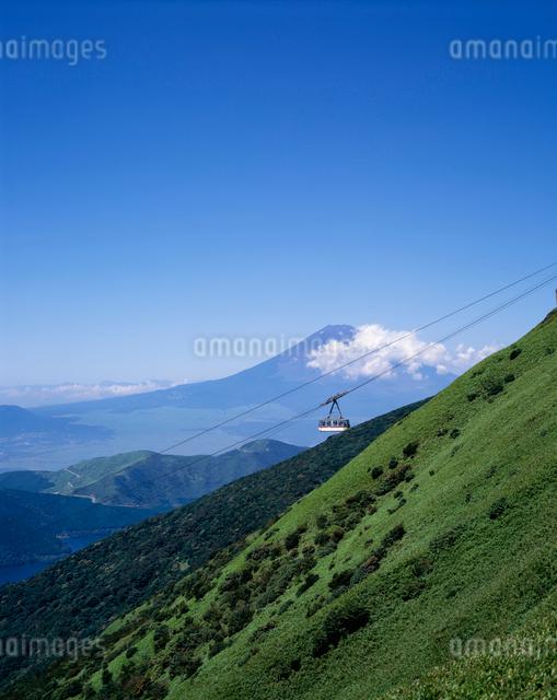 駒ヶ岳ロープウェーの写真素材 [FYI03303806]