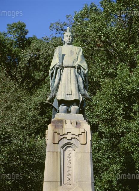 島津斉彬銅像の写真素材 [FYI03303828]