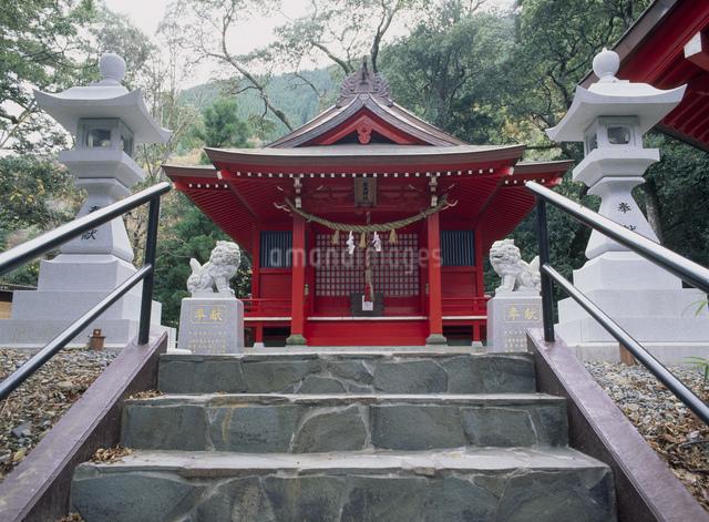 椎葉厳島神社の写真素材 [FYI03303833]