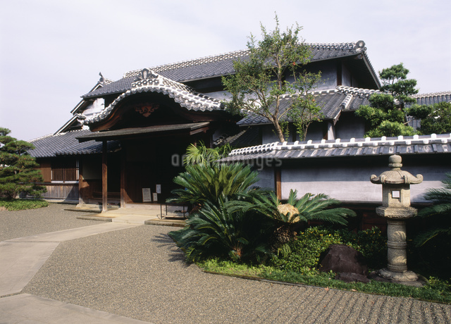旧細川刑部邸の写真素材 [FYI03303852]