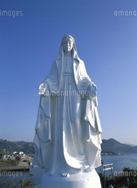 神ノ島聖母マリア像の写真素材 [FYI03303859]