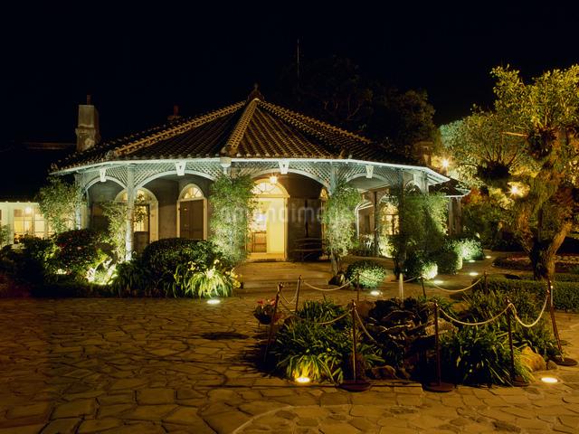 グラバー邸 夜景の写真素材 [FYI03303883]