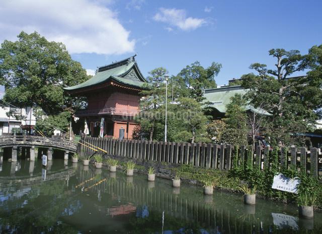 与賀神社の写真素材 [FYI03303885]