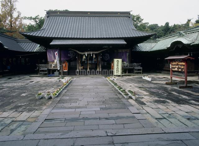 三柱神社の写真素材 [FYI03303921]