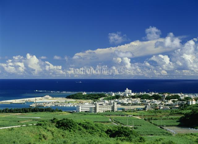 奥武島遠望の写真素材 [FYI03303960]
