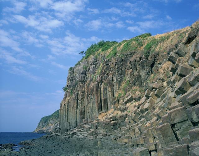 塩俵の断崖の写真素材 [FYI03304012]