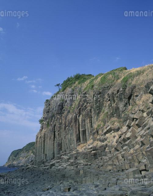 塩俵の断崖の写真素材 [FYI03304015]
