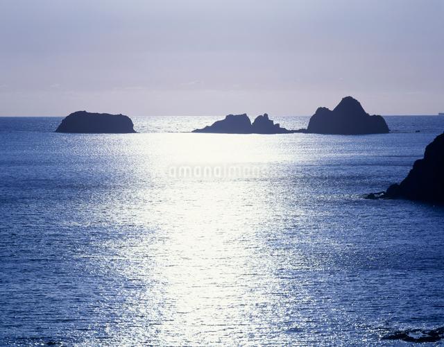坊津の海の写真素材 [FYI03304030]