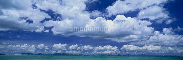 夏雲 与勝半島の写真素材 [FYI03304043]