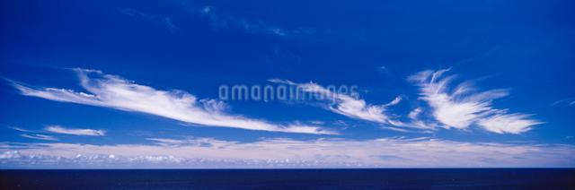 渡口の浜夏雲の写真素材 [FYI03304060]