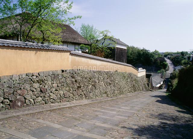 杵築・酢屋の坂の写真素材 [FYI03304067]