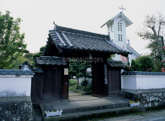 杵築カソリック教会の写真素材 [FYI03304073]