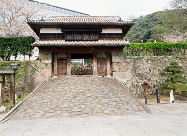 三の丸櫓門の写真素材 [FYI03304083]
