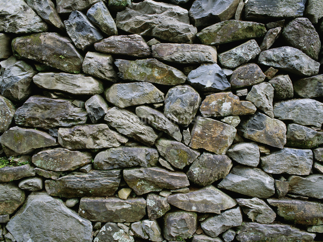 光明寺の石垣の写真素材 [FYI03304145]