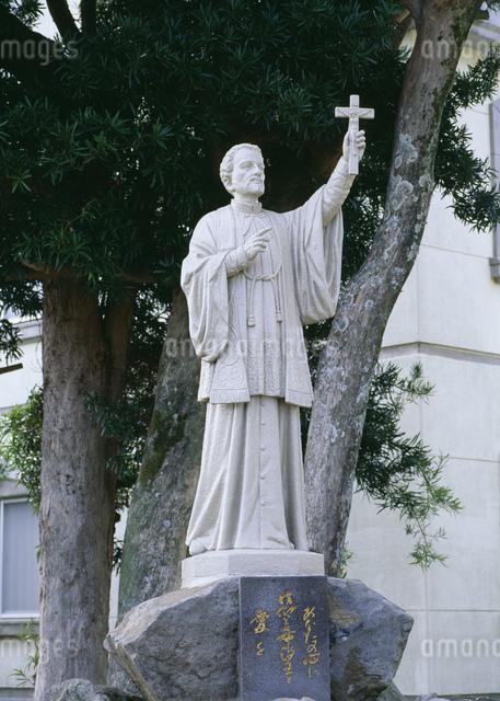 ザビエル像の写真素材 [FYI03304146]