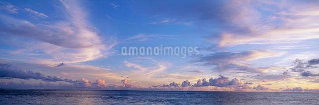 海と夏雲の写真素材 [FYI03304196]