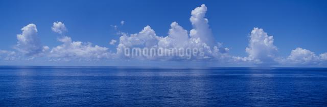 海と夏雲の写真素材 [FYI03304201]