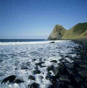 糸島半島の海岸の写真素材 [FYI03304468]